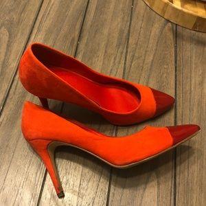 H&M Red-Orange Heels